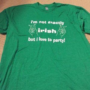 Tops - St Patrick's Day shirt NWOT